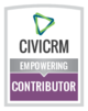 button: CiviCRM empowering contributor