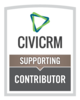 button: CiviCRM contributor